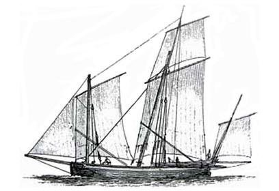Mandragore ii encyclop die de la mer marine ancienne termes et bateaux - Dessins de voiliers ...